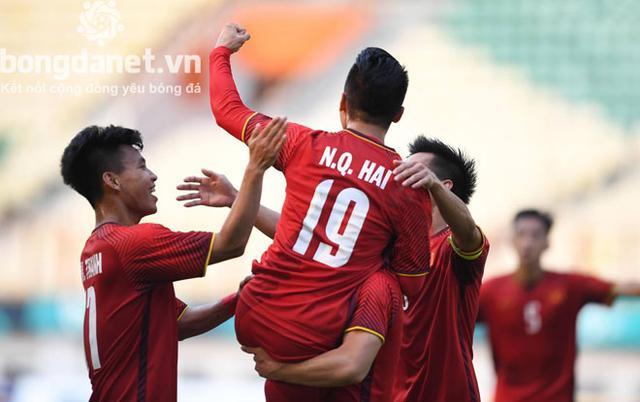 Trực tiếp bóng đá nam ASIAD 2018: U23 Việt Nam vs U23 Nhật