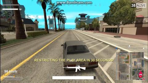 Đã có mod PlayerUnknown's Battlegrounds cho GTA San Andreas