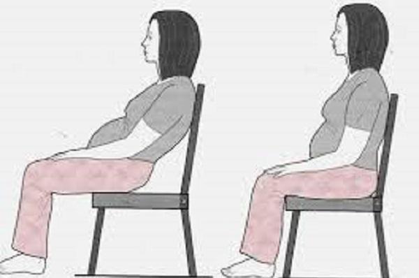 Kết quả hình ảnh cho Mẹ bầu có thể đổi lưng tựa của ghế về trước để giúp tay có điểm tựa đỡ dồn áp lực xuống bụng