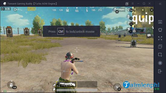 Hướng dẫn thiết lập bàn phím ảo chơi PUBG Mobile trên